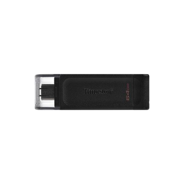 FLASH MEMORY KINGSTON DT70 64GB TIPO USB-C 3.2 - DATATRAVELER 70